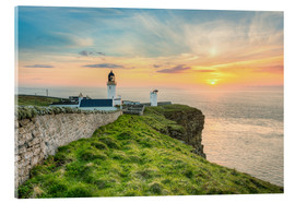 Acrylic print  Sunset at Dunnet Head in Scotland - Michael Valjak