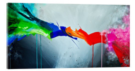 Acrylic print  The Colorful 1 - Yannick Leniger