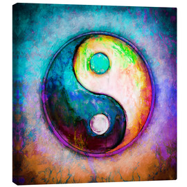 Canvas print  Yin Yang - Colorful Painting 5 - Dirk Czarnota