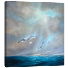 Canvas print  To be free - Annette Schmucker