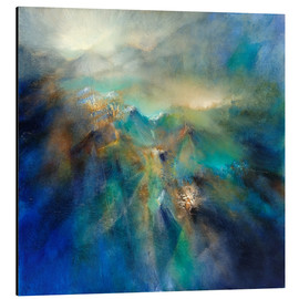 Aluminium print  Above all peaks - Annette Schmucker