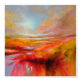 Premium poster  just let it be a perfect day - Annette Schmucker