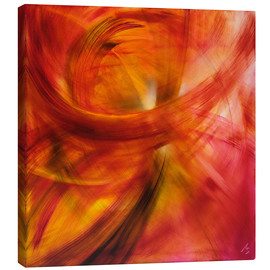 Canvas print  Red light dance - Annette Schmucker