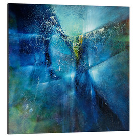 Aluminium print  and i dreamed i was flying - Annette Schmucker