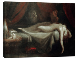 Canvas print  Nightmare - Henry Fuseli