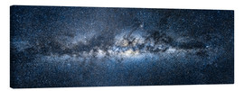 Canvas print  Milky way panorama - Jan Christopher Becke