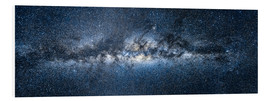 Foam board print  Milky way panorama - Jan Christopher Becke