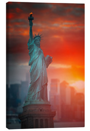 Canvas print  The freedom?