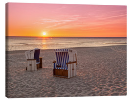 Canvas print  Beautiful Baltic Sea beach