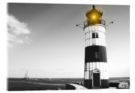 Acrylic print  Lonely lighthouse
