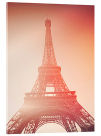 Acrylic print  Paris, my love