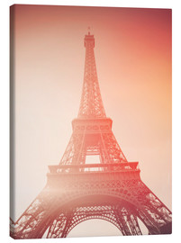 Canvas print  Paris, my love