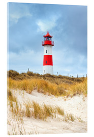 Acrylic print  Lighthouse in the east of the peninsula, Ellenbogen