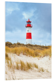Foam board print  Lighthouse in the east of the peninsula, Ellenbogen