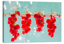 Canvas print  Red currants full - K&L Food Style