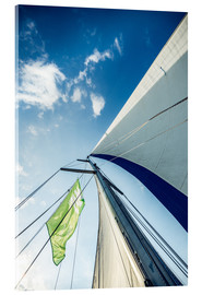 Acrylic print  Sails in the wind - Hannes Cmarits