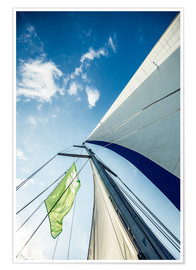 Premium poster  Sails in the wind - Hannes Cmarits