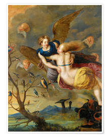 Premium poster An Allegory of Air