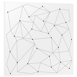 Foam board print  Geometrical Scandi