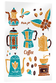 Acrylic print  Coffee Collection
