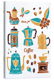 Canvas print  Coffee Collection