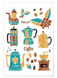 Premium poster  Coffee Collection