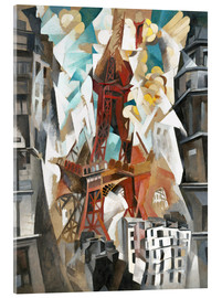 Robert Delaunay - Champs de Mars: The Red Tower