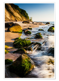 Premium poster Baltic Sea - Stones