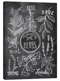 Canvas  Herbs - Lily & Val