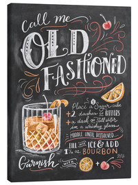Canvas print  Old fashioned recipe - Lily & Val