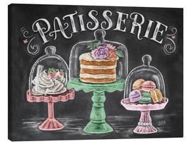 Canvas print  Patisserie - Lily & Val