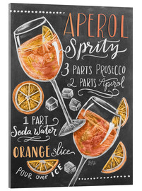Acrylic glass  Aperol Spritz - Lily & Val