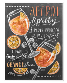 Premium poster  Aperol Spritz - Lily & Val