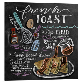 Acrylic print  French toast recipe - Lily & Val