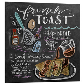 Foam board print  French toast recipe - Lily & Val