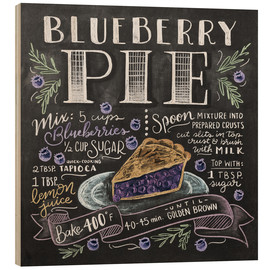 Wood  blueberrypie - Lily & Val