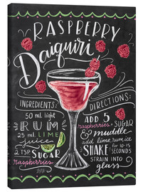 Canvas  raspberry daiquiri - Lily & Val