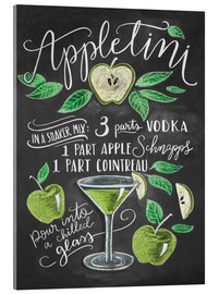 Acrylic print  appletini - Lily & Val
