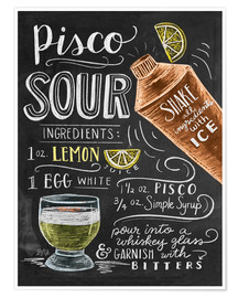 Poster  piscosour - Lily & Val