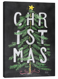 Canvas  Christmas Tree - Lily & Val