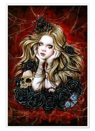 Premium poster Mad Queen Alice
