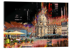 Acrylic print  The new old Fauenkirche in Dresden - Peter Roder