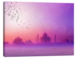 Canvas  Taj Mahal