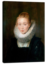 Canvas  Infanta Isabella - Peter Paul Rubens