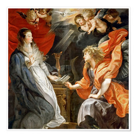 Premium poster Annunciation to Mary