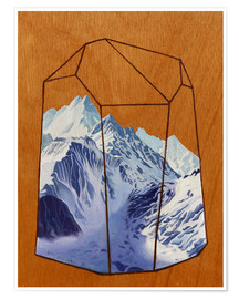 Premium poster  Mountains - Jennifer McLennan