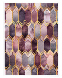 Premium poster  Dreamy Stained Glass - Elisabeth Fredriksson