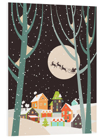 Foam board print  Christmas Night - Kidz Collection