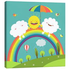 Canvas  Friendly weather - Kidz Collection