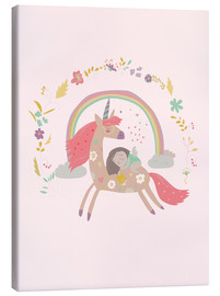Canvas print  Girl from fairytale - Kidz Collection